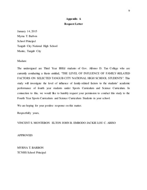 Sample Invitation Letter For Panelist For Thesis Defense